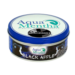 aqua mentha Black apple